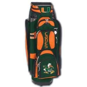 College Licensed Golf Cart Bag   Miami