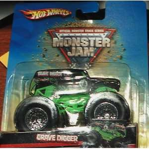 Hot Wheels Monster Jam Grave Digger #47 : Toys & Games :