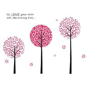 Bigbvg Easy Instant Home Decor Wall Sticker Decal   My Love Grow More