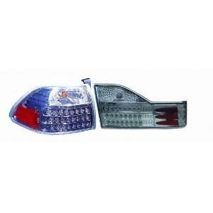 317 1327FXAS7C Honda Accord Sedan Gun Metal LED Tail Light Automotive