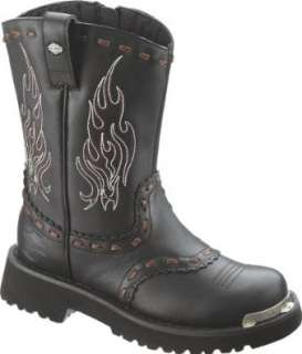Harley Davidson Womens Vera Motorcycle Boot Shoes