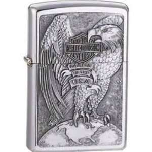 Zippo Lighters 14231 Harley Davidson Made in the USA Eagle