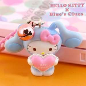 Sanrio Hello Kitty x Blues Clues Netsuke Cell Phone Strap