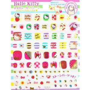 [Hello Kitty] nail shirt & stone strike Sanrio fashionable