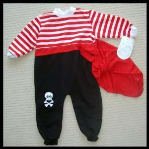 Baby PIRATE Halloween Costume Size 2 NEW Everything Else
