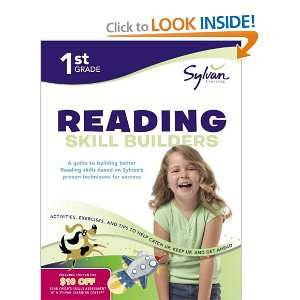 First Grade Reading Skill Builders (Sylvan Workbooks) (Language Arts