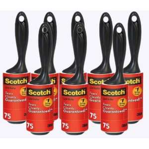 Scotch Lint Roller, 75 Sheets, 8 CountTotal 600 Sheets