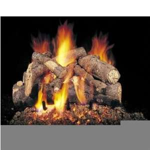 Peterson Gas Logs 30 Inch American Oak Vented Propane Gas Log Set W