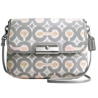 Kristin Ikat Swingpack Crossbody Messenger Bag Purse 45377 Grey Multi