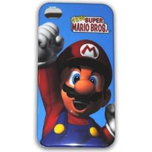 Super Mario Bros Hard Case for Apple Iphone 4g/4s Ib066a + Free