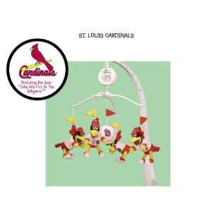 MLB St Louis Cardinals Mascot Musical Baby Mobile *SALE
