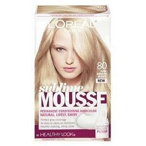 Sublime mousse hair color chart best hair color 2017 salon hair color chart on popscreen altavistaventures Gallery