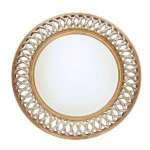 Spun Gold Wall Mirror 45 x 45 x 3
