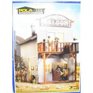 HORSE SALOON   POLA G SCALE MODEL TRAIN BUILDINGS 1802: Toys & Games