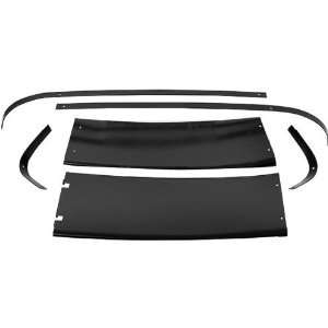 New Ford Mustang Rear Roof Panels & Molding   Fastback, 6pc Set 67 68