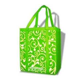 Bags Reusable Grocery Shopping Bag Navy Blue Upright Swirl Everything