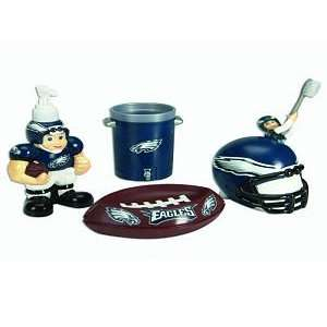 Eagles 5 Piece Team Bathroom Set   NFL Football