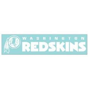 NFL Washington Redskins 4x16 Die Cut Decal Sports