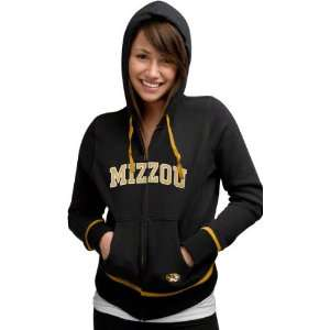 Tigers Womens Nike Black Classic Full Zip Hoodie