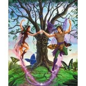 Fairy Dance (Beard) Wall Mural