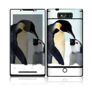 Happy Penguin Design Decorative Skin Cover Decal Sticker