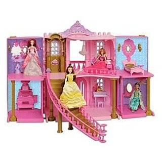 Disney Princess Enchanted Castle Palace Dollhouse Play Set