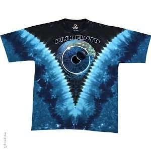 Pink Floyd Pulse V T Shirt (Tie Dye), 2XL  Sports