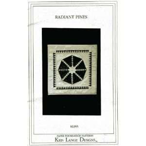 Radiant Pines (Quilt Pattern) (Kris Lange Designs, KL955