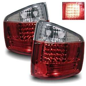 94 04 Chevy S10 LED Tail Lights   Red Clear Automotive