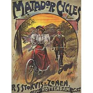 BICYCLE BIKE CYCLES 15 X 18 VINTAGE POSTER REPRO  Home