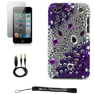 Purple Jewel Luxury Design Premium Crystal Shiny Rhinestone