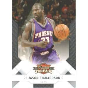 Panini Threads Basketball Card # 88 Jason Richardson Phoenix Suns Mint