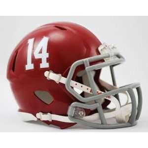 Alabama Crimson Tide Speed Mini Helmet