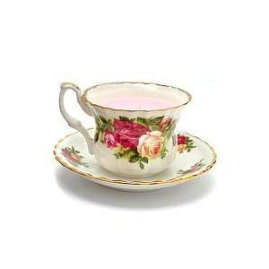 Royal Albert Old Country Roses Tea Cup and Saucer Candle