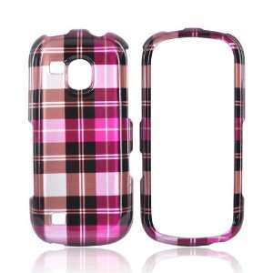 PINK BROWN SILVER For Samsung Continuum Hard Case Cover Electronics