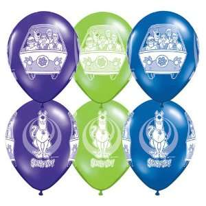 Scooby Doo 11 Printed Balloons (6) Toys & Games