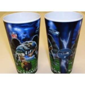 400952   Seattle Seahawks   3D Cup Case Pack 72 Sports & Outdoors