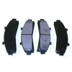 Prime Choice Auto Parts SMK652 Premium New Semi Metallic Front Brake