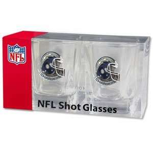 San Diego Chargers Team Shot Glass Set