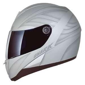 Shark S 650 Fusion Tec Motorcycle Helmet   Matte Silver