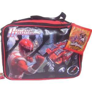 Power Rangers travel Bag Bonus Bi Fold Wallet Electronics