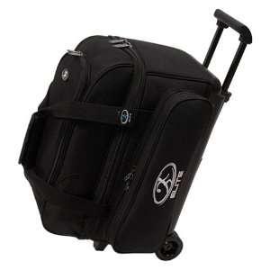 Elite Deuce 2 Ball Roller Bowling Bag  Black Sports