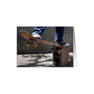 Happy Birthday, Skateboard Boy Card Toys & Games
