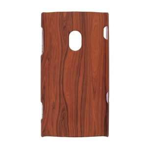 Sony Ericsson X10/ Experia  Wood Grain Rubberized Design   Faceplate