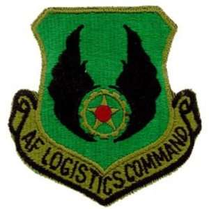 U.S. Air Force Logistics Command Shield Patch Green Patio