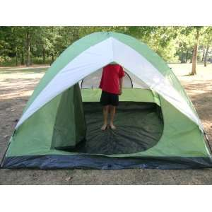10 Foot Four to Five Person Camping Dome Tent Sports & Outdoors