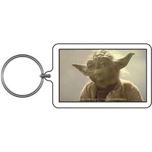 Star Wars Yoda Stare Lucite Key Chain Toys & Games
