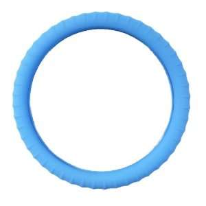 Cover Neon Blue Glow in the Dark Silicone Car Steering Wheel Cover