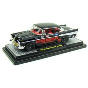 1957 Chevrolet Bel Air Hardtop 1/24 Black Street Rod Toys & Games