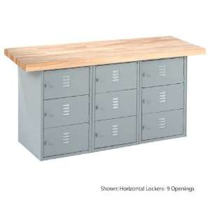 Shain MA6A   XL Horizontal Locker Unit Workbench Width and